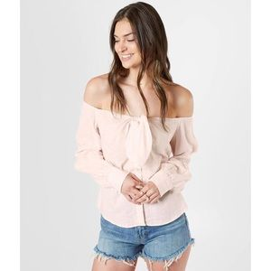 Free People Hello There Off the Shoulder Top